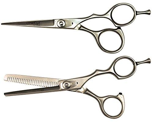 Kit Ciseaux professionnels de coiffure Biais et Sculpteur 5.5 inch (14 cm) OneCut