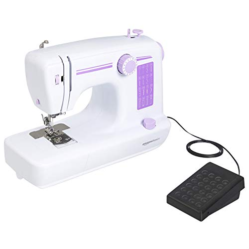 AmazonBasics Household Sewing Machine with 16 Stitch Functions