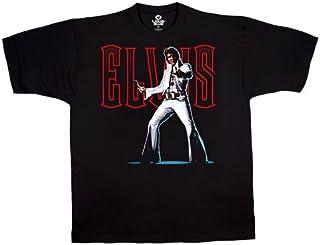 Liquid Blue Men's Elvis All Shook Up Short Sleeve T-Shirt