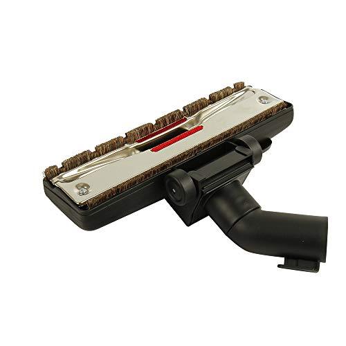 Kenekos Bodendüse Kombidüse 2 Rollen geeignet für Staubsauger 35/32mm AEG Siemens Miele UVM Bodenblech Aluminium