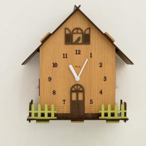 Q-HL Reloj de Pared Reloj Moderno silencioso de Tres Lados, silencioso y sin tictac: números Grandes fáciles de Leer, Ideales for Cualquier habitación del hogar, Comedor, Cocina, Oficina