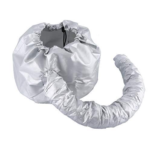 Greatangle Secador de Pelo Suave portátil Gorro con Capucha Sombrero para Mujer Secador de Pelo Peluquería en el hogar Suministro de salón Accesorio Ajustable Gris
