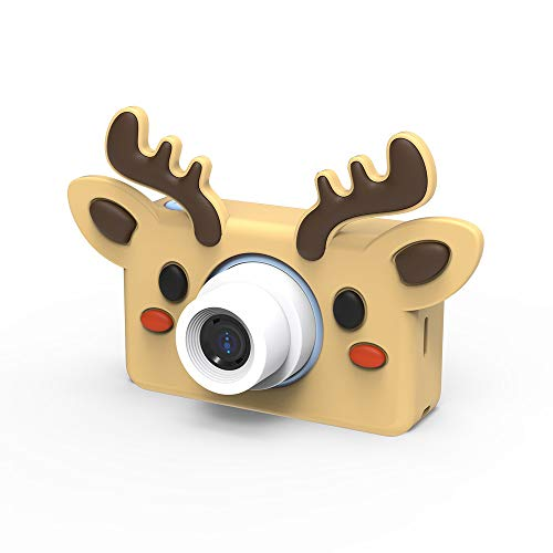 LJJY Kinder-Digitalkamera, Cartoon-SLR-Sportfotografie-Tool 800W Pixel HD intelligente Kamera-Timing-Selbstauslöser,elk