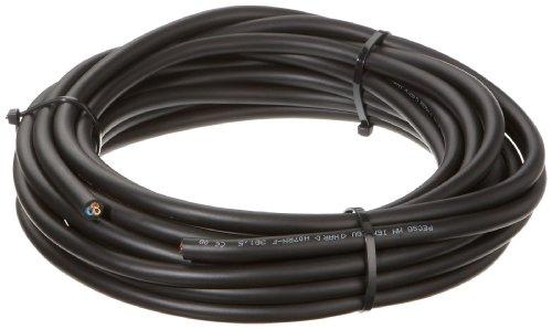 Kopp 152710008 Gummileitung H 07 RN-F 3G, 1.5 mm², 10 m, schwarz