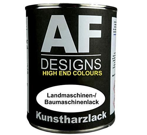 Alex Flittner Designs 1 Liter Kunstharzlack für KUBOTA Schwarzblau Maschinen LKW NFZ Lack Baumaschinen