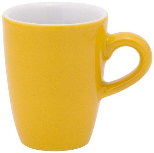 KAHLA Espresso-Obertasse, hoch PRONTO COLORE, 0,10 l orange-gelb (H.Nr. 574732A72767C)