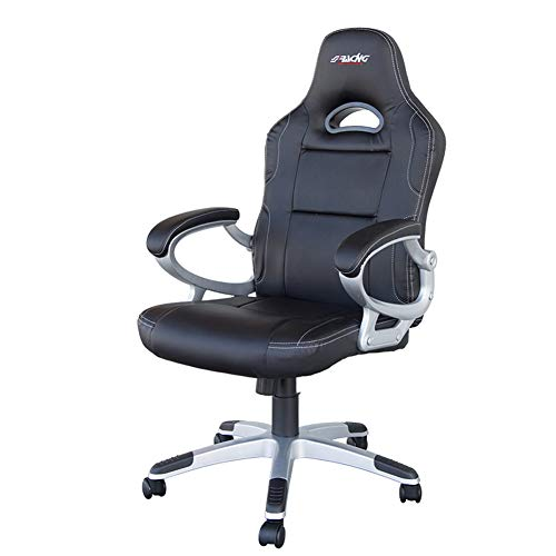 SIMONI RACING SRS/CN Office Seat-Black Synthetic Leather