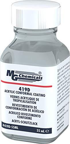 MG Chemicals 419D Hochwertiger Acryl Schutzlack, klar, Flasche (Pack of 1 )