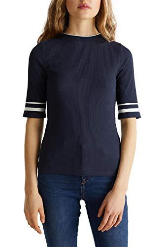 edc by ESPRIT Damen 020CC1K308 T-Shirt, 400, L