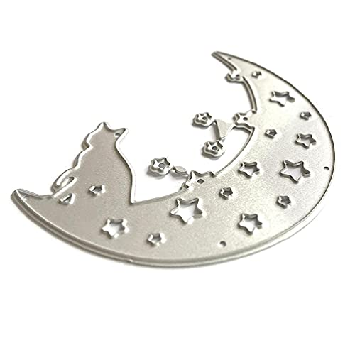 Halloween Cat Moon Metal Cutting Dies Stencil DIY Scrapbooking Album Paper Card Template Mold Embossing Decoration scrapbooking die cuts and stamps