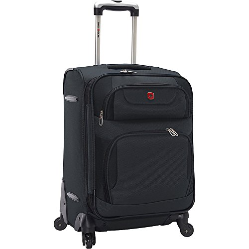 SWISSGEAR 7297 20' EXPANDABLE CARRY ON SPINNER LUGGAGE