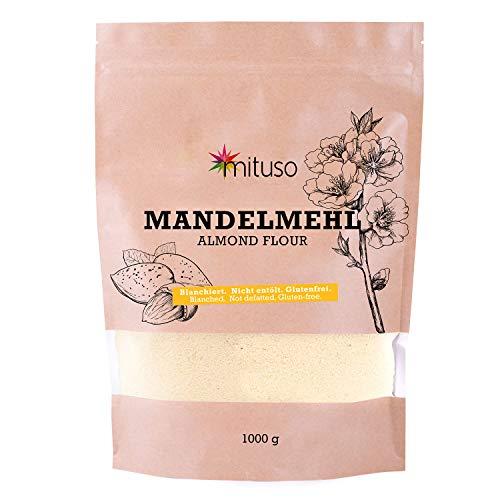 mituso Mandelmehl, naturbelassen, blanchiert, 1000g