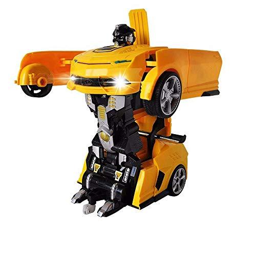 Control remoto de coches, seguro y ligero Niño remota Racing control duradero Llevar las herramientas de entretenimiento for los niños del coche de RC infrarrojos de detección de la deformación en el