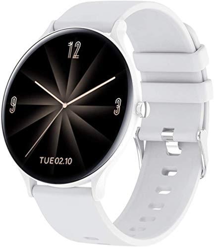 Reloj Inteligente para Mujer, presión Arterial, frecuencia cardíaca, Deportes, Fitness, Reloj Inteligente Ultrafino, dial DIY para Android iOS-A