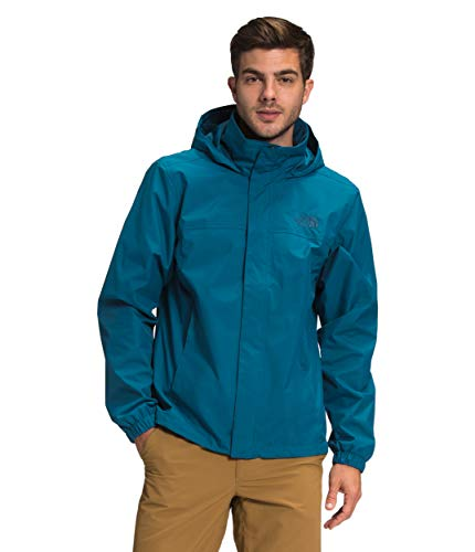 The North Face Men's Resolve Waterproof Jacket, Moroccan Blue, M