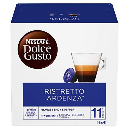 NESCAFÉ DOLCE GUSTO ESPRESSO ARDENZA Caffè espresso 3 confezioni da 16 capsule (48 capsule)