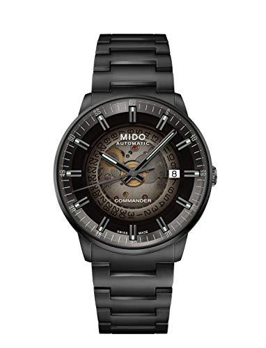 MIDO Commander Gradient, Schweizer Automatikuhrwerk, Datum, Metallarmband, M021.407.33.411.00