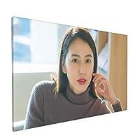 ??雅美(Masaminagasawa、まぁちゃん、長澤まさみ)ポスターアートパネルキャンバスペインティング室内装飾壁掛け30x45cm