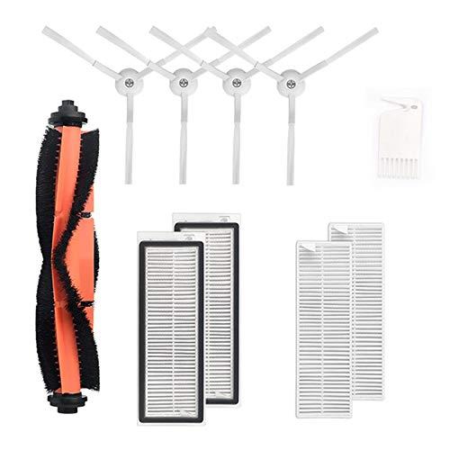 Fransande Juego de filtros de cepillo lateral para aspiradora Mijia G1 de repuesto para electrodomésticos, 10 unidades