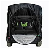 CYCPACK Car Camping Tent SUV Tail Awning Waterproof Sun Protection Car Side Hatchback Tailgate Sunshade for Outdoor Camping Self Driving Tour Picnic Fishing Barbecue Travel,Black,M