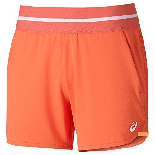 ASICS pantalón Corto de Punto Club Naranja Coral...