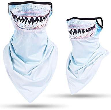 Nethaniah Neck Gaiter 3D Animal Balaclava Warmer Windproof Face Mask Scarf for Ski Halloween product image