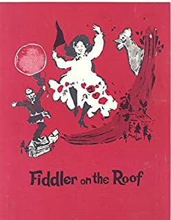 Jan Peerce/Delores Wilson Autographs on Fiddler on the Roof Program from Broadway Theater, 1972