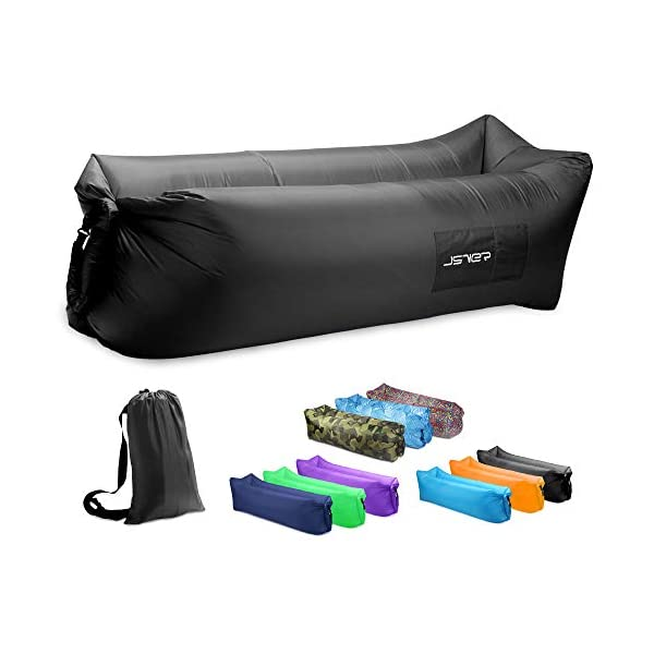 JSVER Air Sofa, Inflatable Lounger Inflatable Couch for Travelling, Outdoor, Camping,...