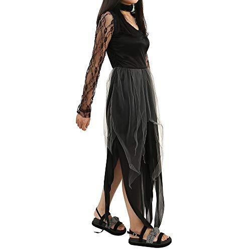 New_Soul Disfraz De Novia Cadaver Traje Vampiro Mujer Fantasma Cosplay Vestidos Fiesta Carnaval Novedad Ropa De Noche para Mujer Cosplay Novia Zombie Fantasma Halloween Carnaval