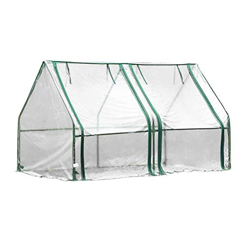 mbition Garden Greenhouse Tent, Portable Plant Tent1206060cm, Waterproof UV Heat Protected Reinforced Tower-Type Mini Greenhouse for Household, for Plants Vegetable Winter Warm