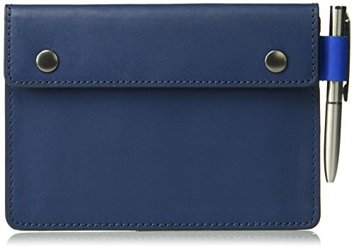 Fossil Men's Passport Sleeve Navy, 4.5