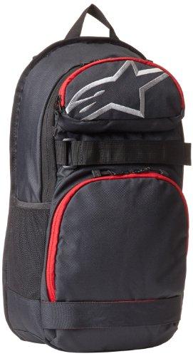 Alpinestars Herren Rucksack Optimus Pack, Black/Red, One Size
