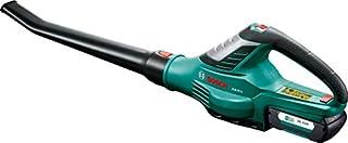 scheda bosch alb 36 li soffiatore da giardino a batteria, 36 v, 2.0a, batteria, caricabatteria, confezione in cartone, velocità del flusso d'aria: 180 - 260 km/h
