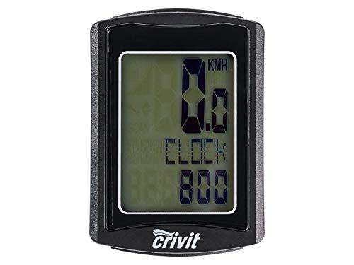 Crivit Fahrradcomputer Entfernungsmesser Stoppuhr Uhrzeit Kalorienzähler