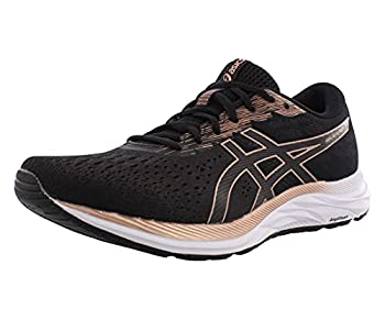 ASICS Women s Gel-Excite 7  D  Running Shoe 7W Black/Rose Gold