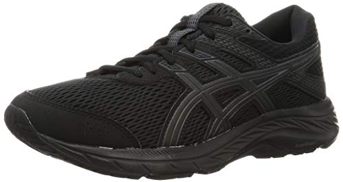 ASICS Men's Gel-Contend 6 Running Shoe, Black, 5.5 UK