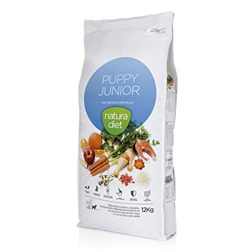 Natura diet Puppy junior 12 kg Alimento Natural seco.