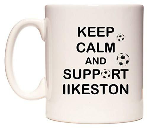 Keep Calm And Support Ilkeston Taza por WeDoMugs®