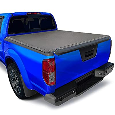 Tyger Auto T3 Soft Tri-Fold Truck Bed Tonneau Cover for 2005-2021 Nissan Frontier 2009-2012 Suzuki Equator Fleetside 6' Bed TG-BC3N1029