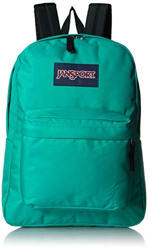 JANSPORT Superbreak Zaino, Unisex - Adulto, Superbreak Backpack, Verde Varsity, Taglia unica