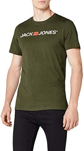 Jack & Jones Jjecorp Logo tee SS Crew Neck Noos - Camiseta Hombre Verde
