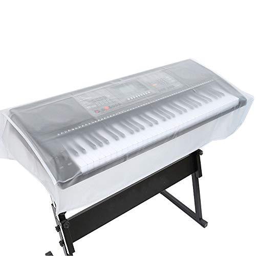 Dciustfhe 88 tasti copertura per pianoforte elettronica Digital Piano Elettronica Tastiera Copertura antipolvere Trasparente Key Cover Cover Impermeabile Keyboard Copertura antipolvere