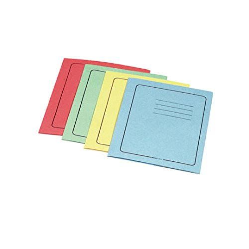 ESSELTE Cartelle MANILLA 3 lembi - f.to 25 x 35 cm - Rosso - Confezione da 25 pezzi - 55133