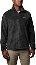 Columbia Men's Steens Mountain Full Zip 2.0, Soft Fleece with Classic Fit, Charcoal Heather, Large