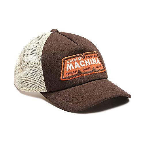 Deus ex machina Trucker Cap - Tobacco Brown