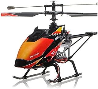 RCTecnic Helicóptero Teledirigido RC Wltoys V913 4 Canales 2.4Ghz y Giroscopio | Helicoptero Radiocontrol con 5 Niveles de Vuelo Tamaño: 70cm