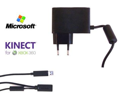 Oficial Microsoft Xbox 360 Kinect Fuente de alimentación principal / cable adaptador...