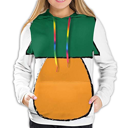 MLNHY Women's Hoodies Tops,Bicolor Desk Furniture Design with Grunge Inspirations,Hoodie Sweatshirt Apparel for Women,Lady, Teens and Girls,Size:S