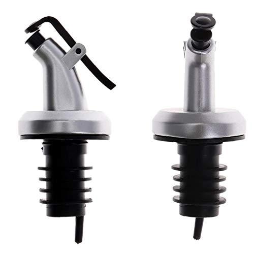 Zonster Botella de Acero vertedores Vino Velocidad Aceite pulverizador del dispensador de licores Inoxidable