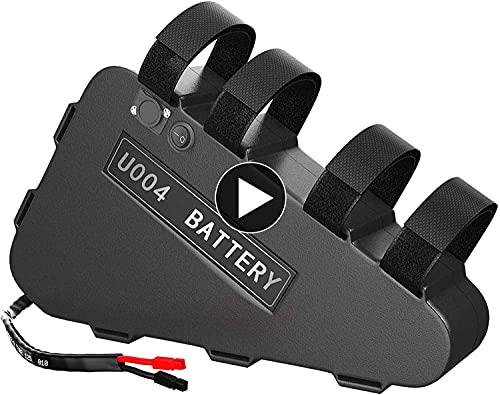 UPP Ebike Battery Pack 48V 20AH - 48 Volt Lithium Battery for 1000W 750W 500W Bafang Motor- Electric Bike Triangle Battery (48V 20Ah)